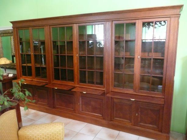 Bücherschrank Großer Bücherschrank Bücherkasten Antiquitäten
